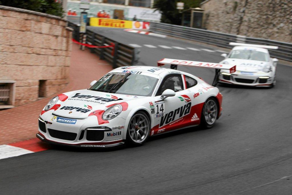Kuba Giermaziak w Porsche na ulicach Monte Carlo
