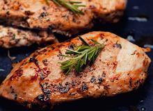 Pierś z kurczaka z grilla w marynacie cytrynowo-rozmarynowej - ugotuj