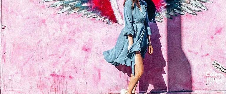 Anna Wendzikowska zachwyca stylizacjami w Los Angeles. Nas urzekła romantyczna sukienka polskiej marki