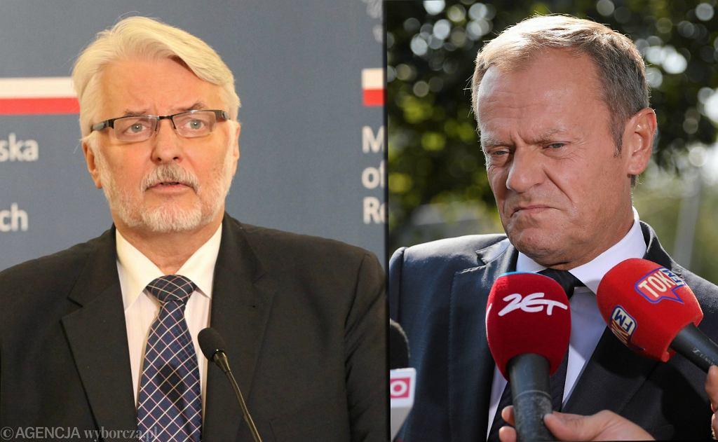 Witold Waszczykowski, Donald Tusk