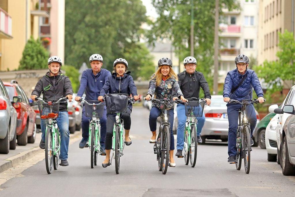 Urzędnicy na nowych rowerach