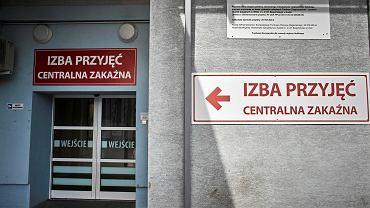 Szpital im Biegańskiego w Łodzi - Centralna Zakaźna Izba Przyjęć