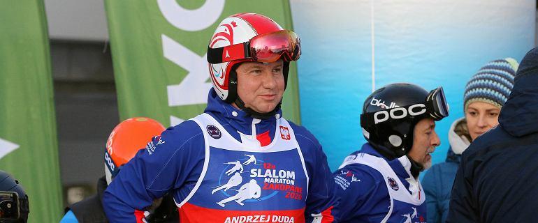 Andrzej Duda ponownie szykuje się na narty. Weźmie udział w maratonie