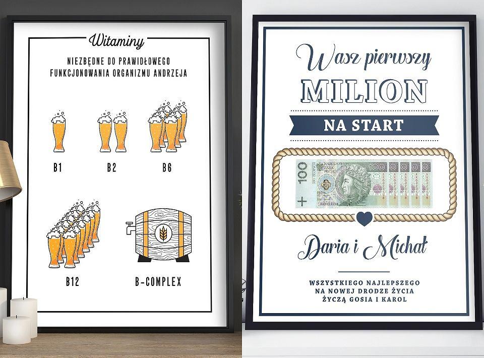 Plakaty personalizowane