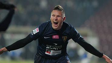Bohater meczu, Marcin Robak po strzeleniu jednej z bramek