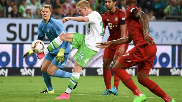 Kevin De Bruyne w meczu z Bayernem