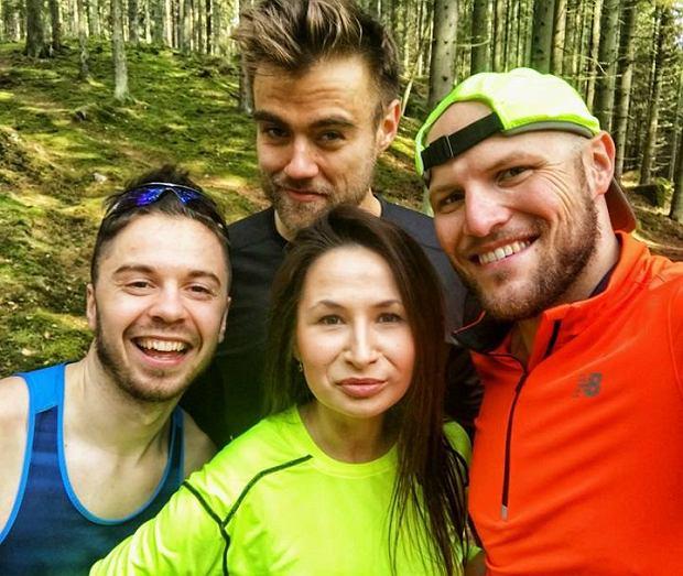 Mateusz Jasiński, Damian Bąbol, Kamila Gąsiorek i Marcin Frej
