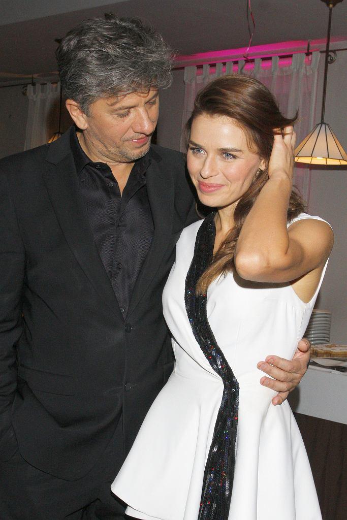 Janusz Józefowicz i Natasza Urbańska