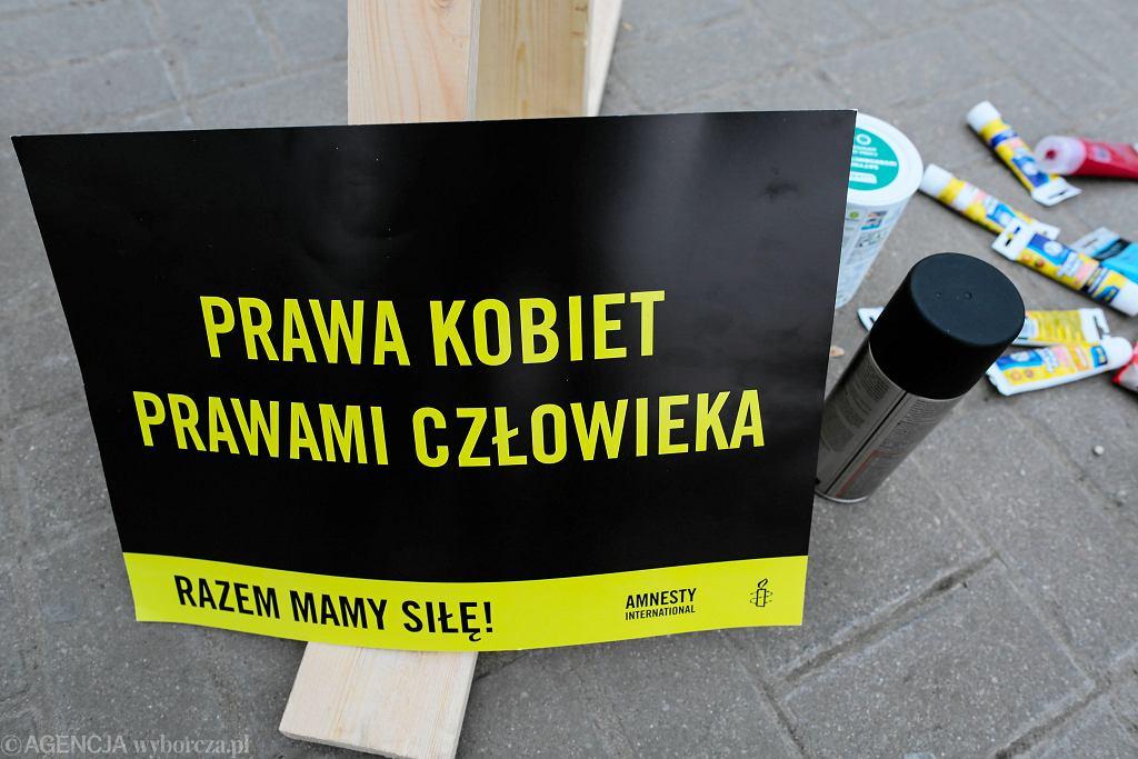 Prawa człowieka. Protest Amnesty International