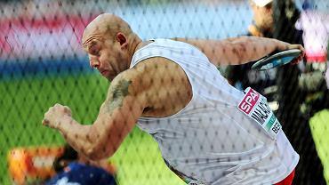 Piotr Małachowski nie zakwalifikował się do finału mistrzostw Europy w Berlinie