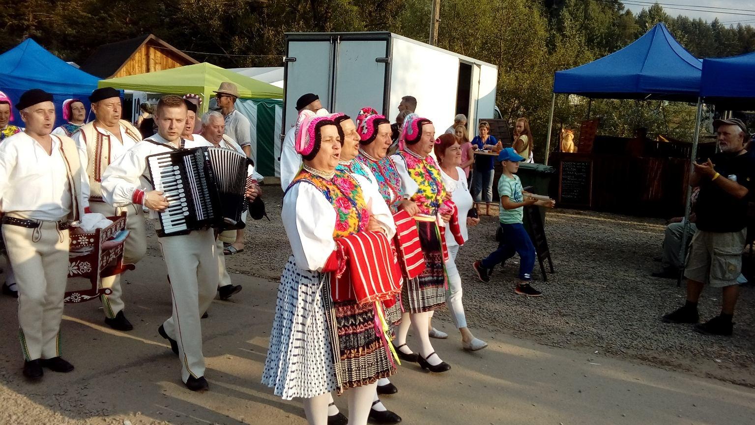 Łemkowska Watra w Zdyni odbywa się co roku w trzecim lub czwartym tygodniu lipca