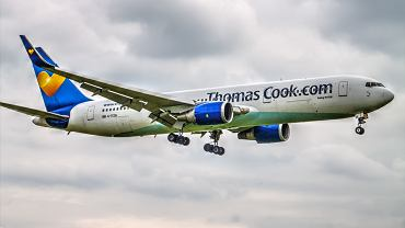 Samolot linii lotniczych Thomas Cook Airlines