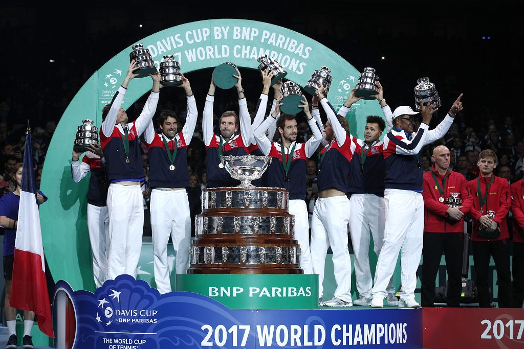 Francja wygrywa Puchar Davisa w 2017 roku