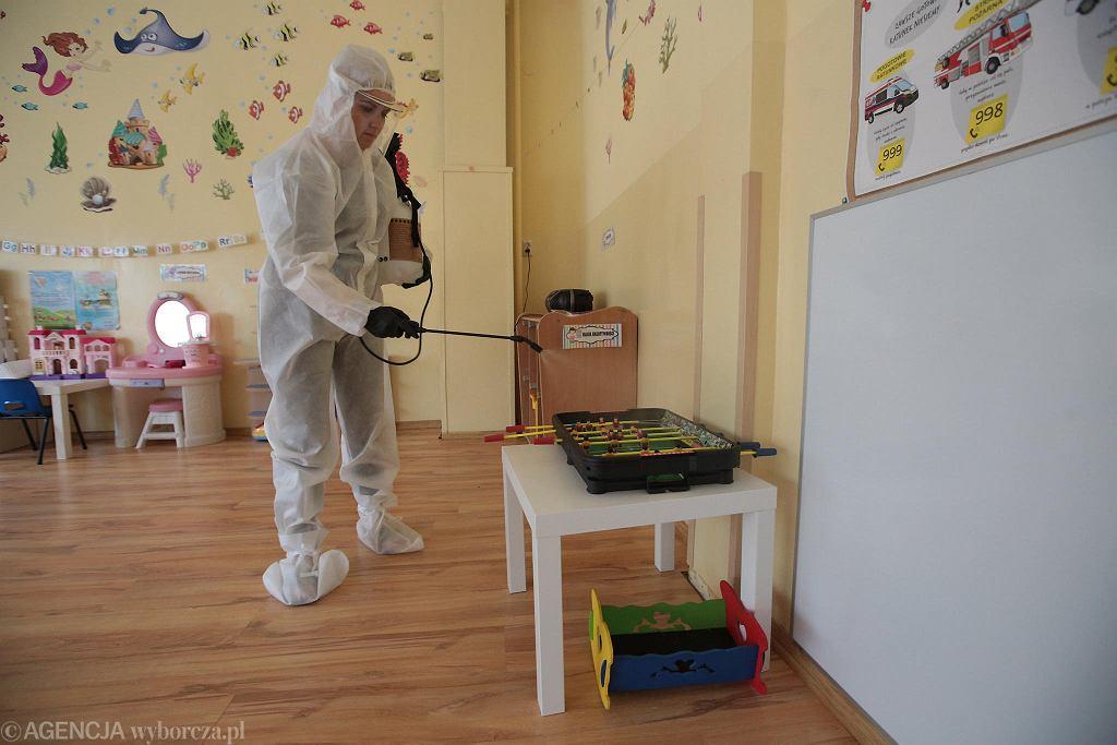 Przedszkola, do których wrócą maluchy będą musiały zadbać o dystans i bezpieczeństwo dzieci