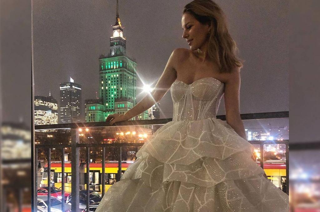 Paulina Sykut-Jeżyna w sukience Madonna Atelier