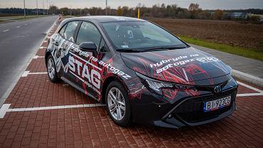 Toyota Corolla Hybrid z instalacją LPG
