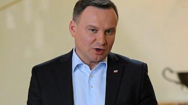 Andrzej Duda na Słowacji