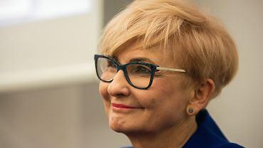 Posłanka Iwona Michałek. Bydgoszcz, 17 kwietnia 2018