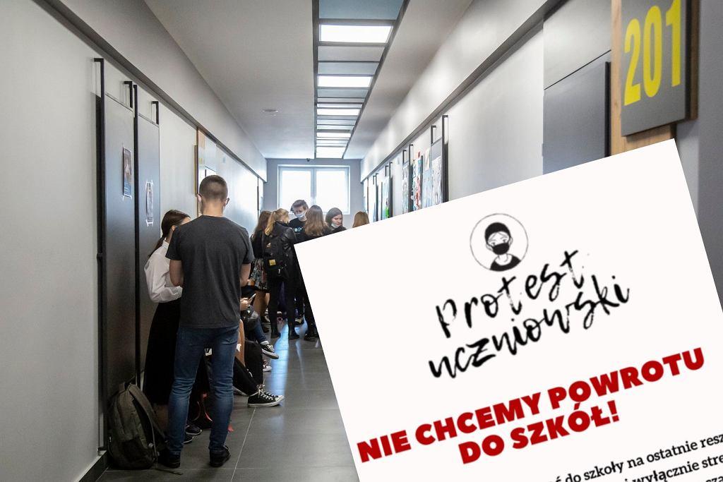 Petycja o nie wracanie do szkół