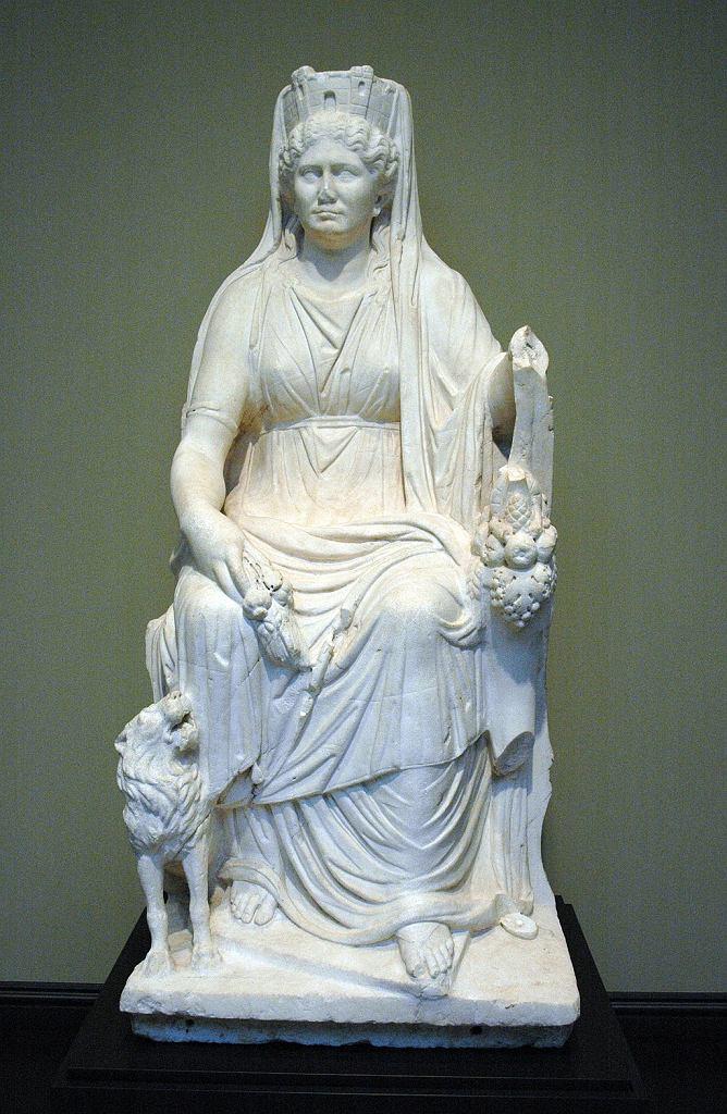 Pomnik bogini Kybele
