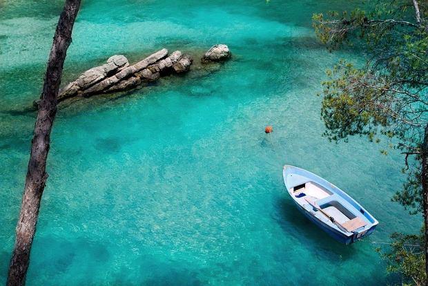 Majorka - Cala Fornells. Plaża w miejscowości Paguera w zachodniej części Majorki