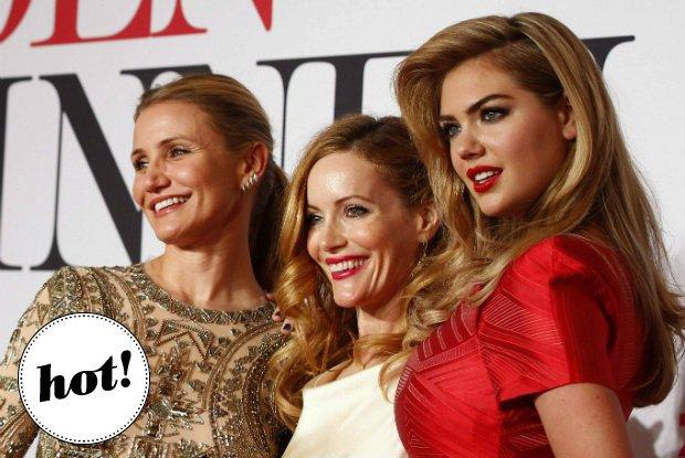"""Trzy piękne aktorki promują film """"The Other Woman"""" - która z nich wypadła najlepiej na czerwonym dywanie?"""