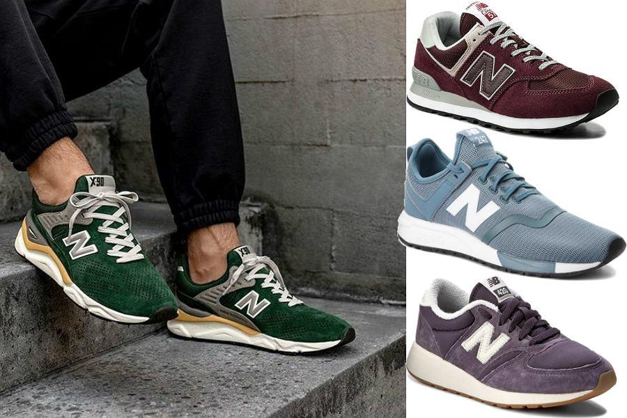 Kolorowe sneakersy New Balance