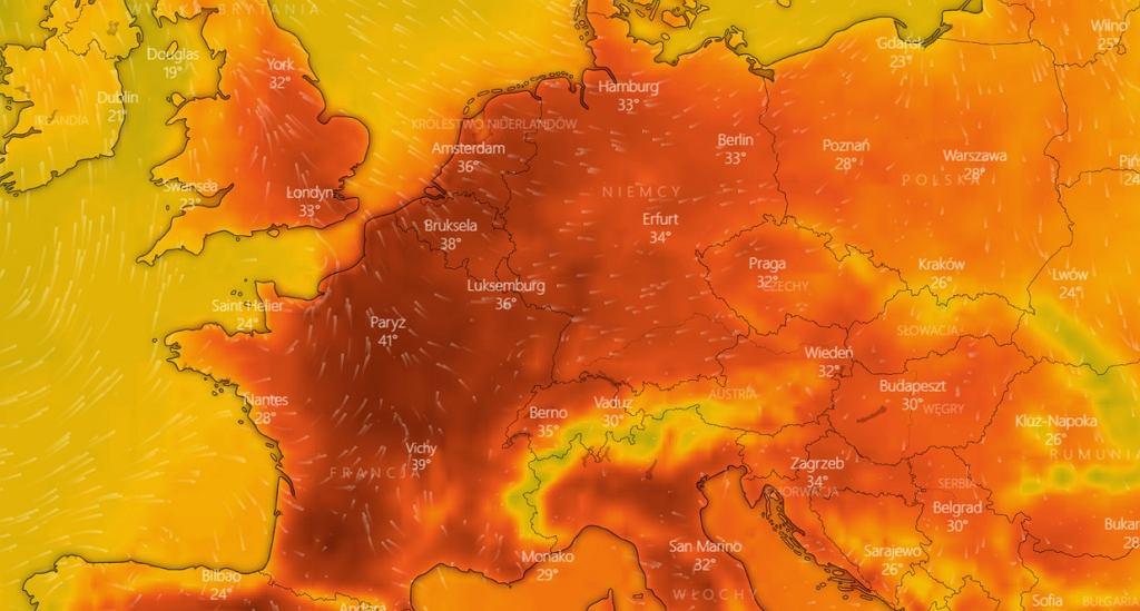 W środę do Polski dotrze fala upałów z południa Europy.