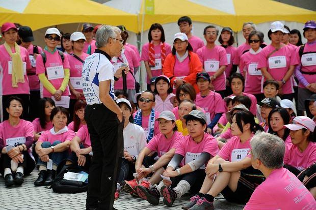 Profesor Tanaka prowadzi zajęcia