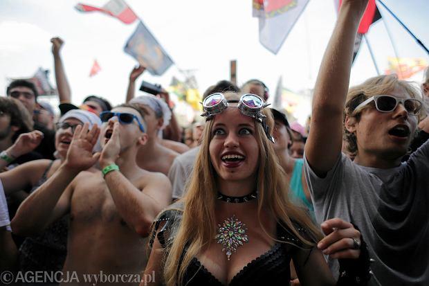 Pol'and'rock Festival, dawny Przystanek Woodstock. Kostrzyn nad Odrą, 2 sierpnia 2018