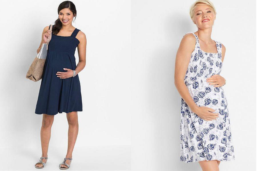 Tanie letnie sukienki ciążowe