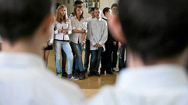 Sprawdzian na zakończenie szkoły podstawowej pisali też szóstoklasiści z SP 58
