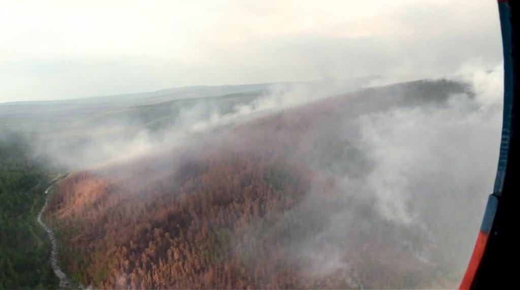 Pożary w Rosji