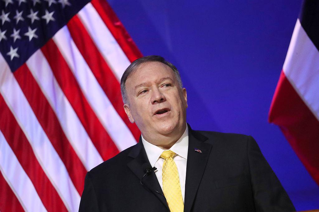 Mike Pompeo, sekretarz stanu USA.