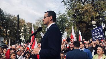 Premier Mateusz Morawiecki w Dębicy