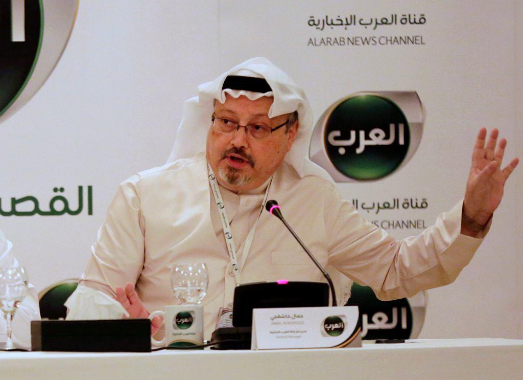 Zaginiony saudyjski dziennikarz Dżamal Chaszodżdżi. Zdj. z 2014 roku
