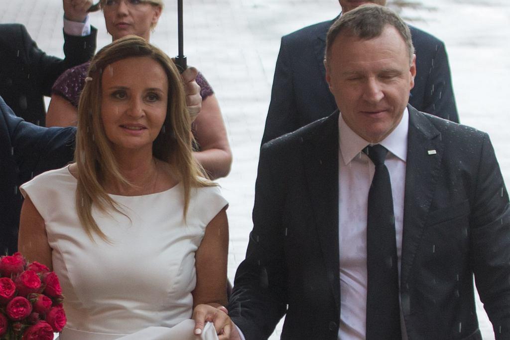 Jacek Kurski i Joanna Kurska