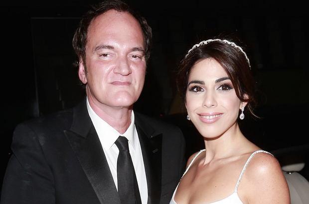 """Quentin Tarantino już niedługo zostanie ojcem! Reżyser i jego żona podzielili się radosną nowiną z magazynem """"People""""."""