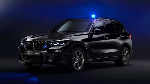 Opancerzone BMW X5 Protection VR6