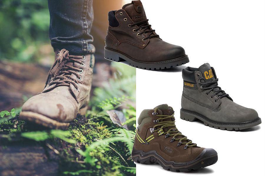buty męskie na jesień trapery trekkingi