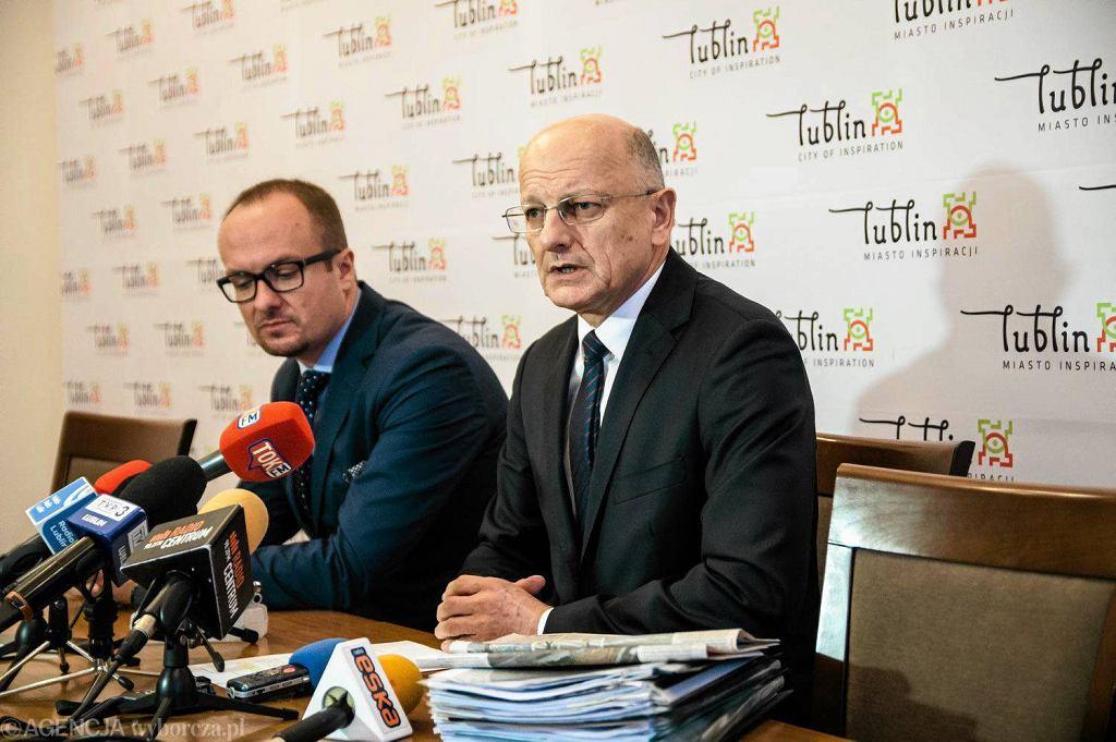 Prezydent Lublina Krzysztof Żuk