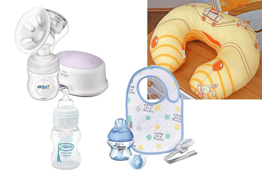 Akcesoria do karmienia niemowląt