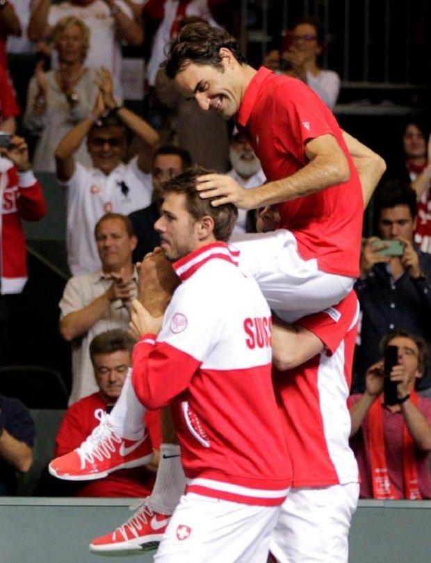 Szwajcarzy, Puchar Davisa Genewa 2014