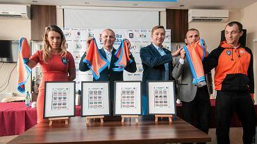 Od lewej: Magdalena Fularczyk-Kozłowska, Robert Sycz, Paweł Rańda, Bartłomiej Pawełczak, Miłosz Bernatajtys
