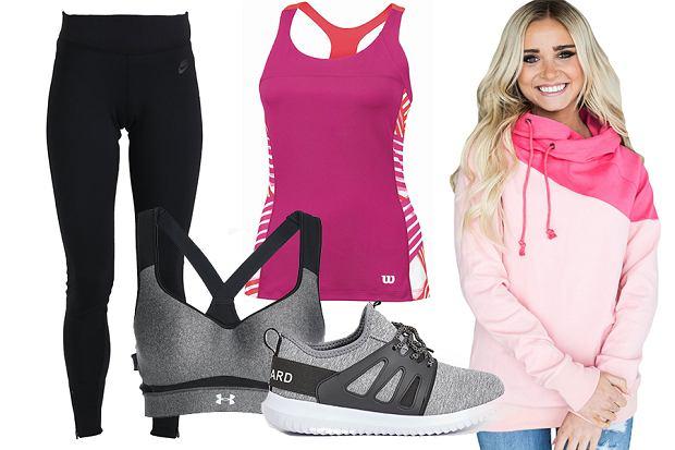 Ubrania sportowe dla młodych mam