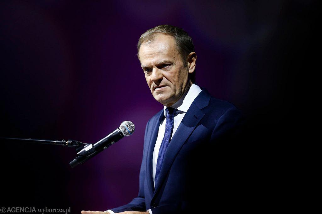 Donald Tusk w Łodzi