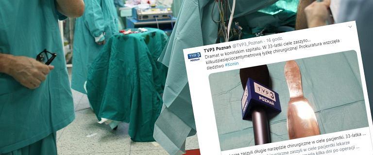Lekarze zaszyli w brzuchu kobiety narzędzie chirurgiczne. Pacjentka nie przeżyła