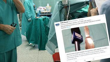 Lekarze zaszyli kobiecie w brzuchu narzędzie chirurgiczne