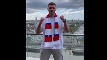 Lukas Podolski zaprasza kibiców Górnika na swoją prezentację