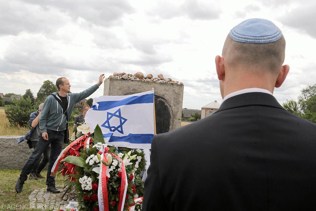 Obchody rocznicy pogromu w Jedwabnem. Zdjęcie archiwalne